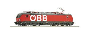 Roco 73953 OBB Class 1293 'Vectron', Red Livery, Word Logo, Era VI